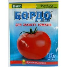 Фунгицид Бордо для защиты томатов 10г, Агрохимпак