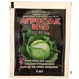 Инсектицид Агростак 100 к.е, 4 мл Агромакси