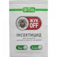 Инсектицид Жук Офф 3 мл Укравит