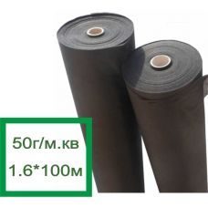 Premium Agro Агроволокно черное 50г/м.кв, 1.6*100м