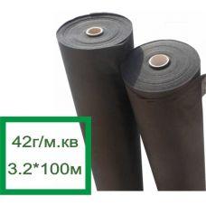 Premium Agro Агроволокно черное 42г/м.кв, 3.2*100м