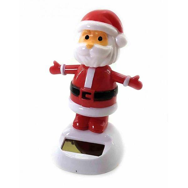 Дед Мороз Танцует, Статуэтка на Солнечной батарее 12х10х6 см Flip Flap
