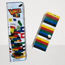 Настольная Игра Дженга Vega Color (Падающая Башная) 54 бруска