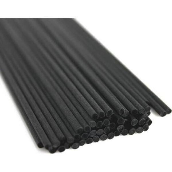 Палочки для аромадиффузора 500 шт, 20 см, D-4 мм, Черные, Волокно Тростника