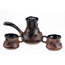Набор кофейный с камином Coffee Bean, 4 предмета
