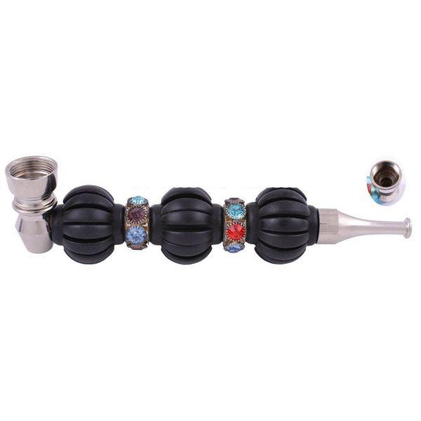 Трубка Курительная Metall Black 14 см