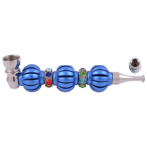 Трубка Курительная Metall Blue 14 см