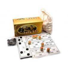Игра настольная Лото, Коробка (90 бочонков)