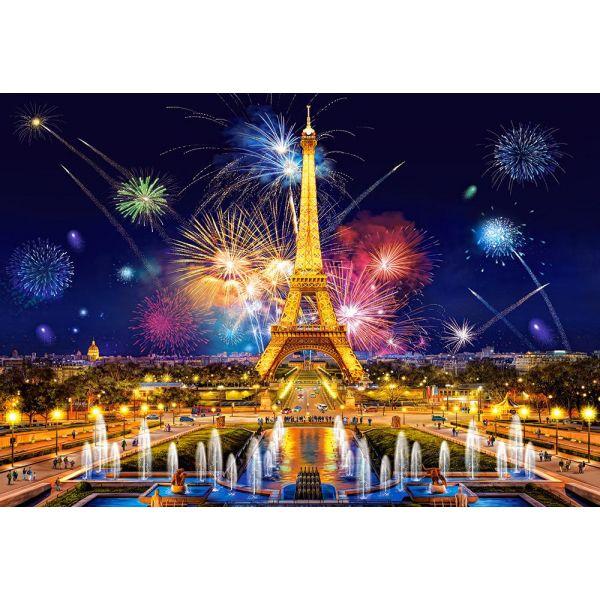 """Пазлы """"Красивый Париж Ночью"""", 1000 элементов"""