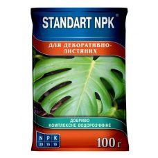 Удобрение для Декоративно-Лиственных, 100 г, Кристаллическое, Standart NPK
