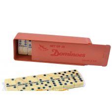 Домино настольная игра, Пластик, 14,5х5х3 см