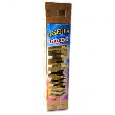 Игра настольная Дженга 64 шт (6.5х6.5х26 см)