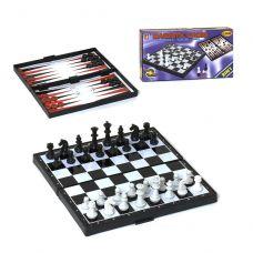 Игровой набор Шахматы, Нарды, Шашки магнитные (25x25 см)