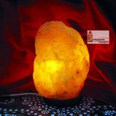 .Соляная лампа (S-001)(1-3 кг)(6 шт ящ.)(Гималайская соль)