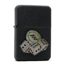 Зажигалка бензиновая Cube