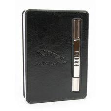 Портсигар с выбросом сигарет и зажигалкой (10х7х2 см) A
