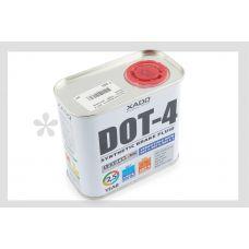 Тормозная жидкость DOT 4 (500мл) (жестяная банка) ХАДО
