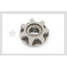 Звезда электропилы (венец привода) (D-35, d-10/12, H-8mm) China #4 JIANTAI