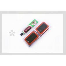 Ремкомплект камеры 30*50 (24 латки, клей) YKX (mod.A)