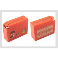 АКБ 12V 2,3А гелевый, Suzuki (113x39x89, оранжевый, mod:YT4B-5) OUTDO