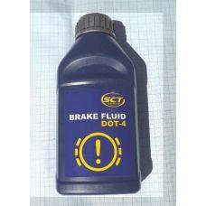 Тормозная жидкость DOT 4 (500мл) SCT