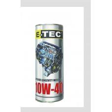 Масло 4T, 1л ж/б (SAE 10W-40, полусинтетика) E-TEC (#GPL)