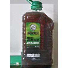 Масло автомобильное, 4л (SAE 10W-30, минеральное, М10Г2) (пэт) SOBOL (#GPL)