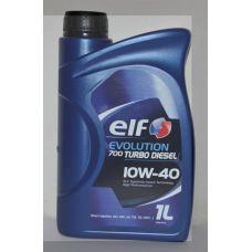 Масло автомобильное, 1л (SAE 10W-40, полусинтетика) (Evolution 700 TURBO DIESEL 10W-40 ) ELF (#GPL)