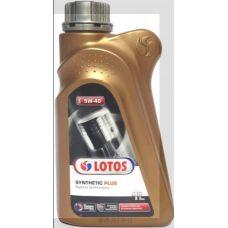 Масло автомобильное, 1л (SAE 5W-40, синтетика) (Synthetic Plus) LOTOS (#GPL)