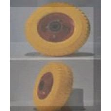 Колесо 2,50 -4 TL (бескамерное, под ось d-20мм) (желтое) MRHD