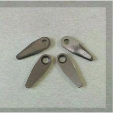 Нож режущий ременной косилки (4 шт, форма капли) ST