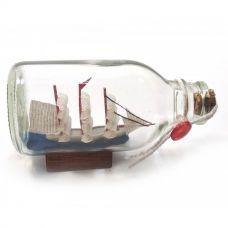 Парусник в бутылке (11,5х6,5х5,5 см) Darshan