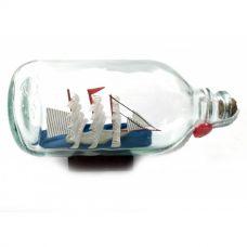 Парусник в бутылке (14,5х7,5х6,5 см) Darshan
