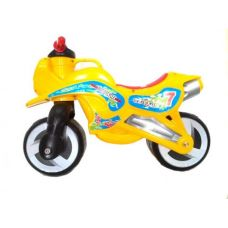 Детский Беговел пластиковый Желтый