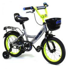 """Велосипед 2-х колёсный """"Corso"""" 14"""" (серый)"""
