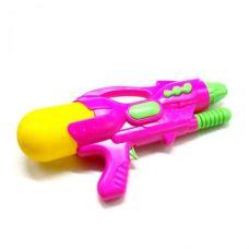Водяной пистолет с накачкой (розовой)