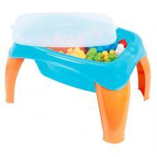 Столик с набором конструктора, 42 дет