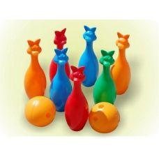 Набор для боулинга (7 кеглей и 2 шара)