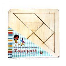 """Набір для творчества и развития: Танграм на планшете """"мини"""" 123*123"""