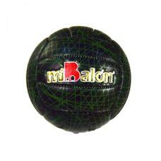 Мяч волейбол  (черно-зеленый)