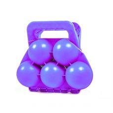 Снежколеп на 5 снежков (фиолетовый)
