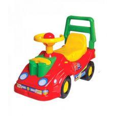 Детская Машинка-каталка ТехноК с телефоном Красный