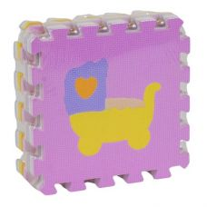 Фомовый коврик-пазл, 9 элементов