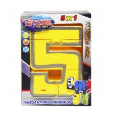 """Цифра-трансформер """"5"""""""