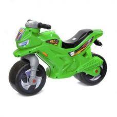 Детский Беговел - Мотоцикл 2-х колесный, Зеленый