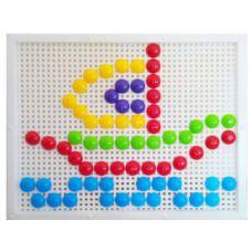 Мозаика с круглыми фишками (120 элементов)