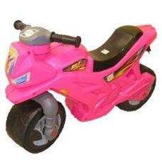 Детский Мотоцикл 2-х колесный, Розовый