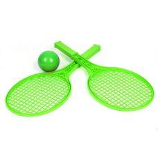 Детский набор для игры в теннис ТехноК (зеленый)