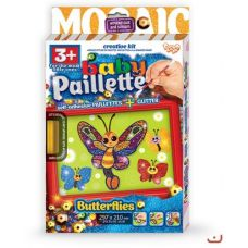 "Картина-мозаика из пайеток ""Baby Paillette: Бабочка"""