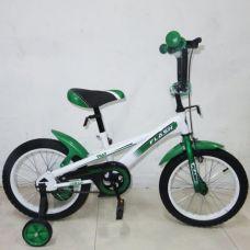 """Велосипед """"FLASH"""" (зелено-белый)"""
